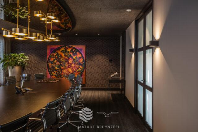 Geluidsabsorberende PETpanel plafond